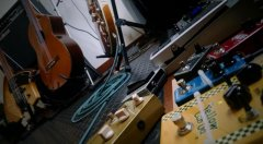 Home Studio - Pedais de efeito para guitarra